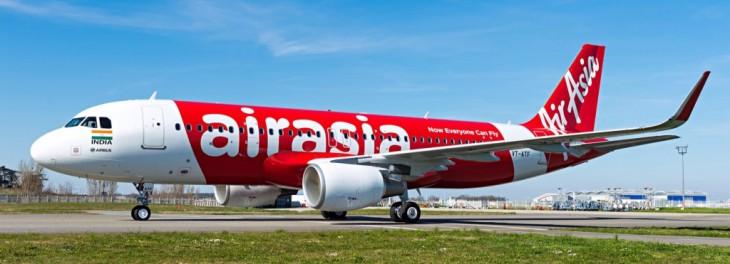 Аэробус А320 авиакомпании AirAsia (ЭйрАзия)
