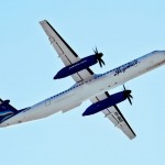 Самолет Bombardier Q400 авиакомпании Якутия