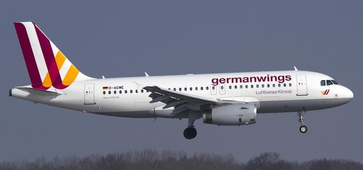Airbus A319 авиакомпании Германвингс