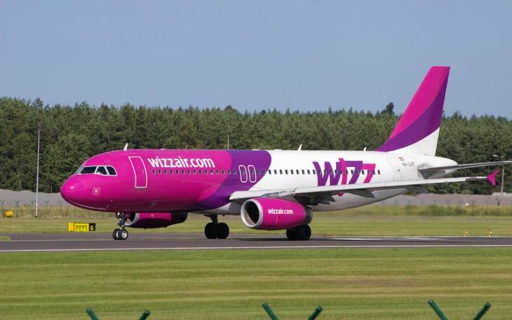 Самолет авиакомпании Wizz Air