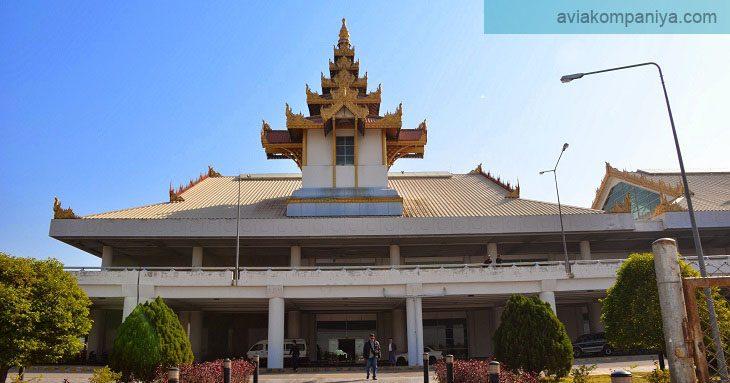 Фотография международного аэропорта Мандалай