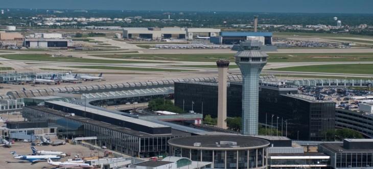 Аэропорт Чикаго О'Хара - онлайн табло