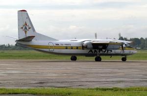 Самолет Ан-24 авиакомпании Амур