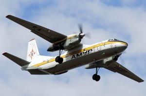 Самолет Ан-26 авиакомпании Амур