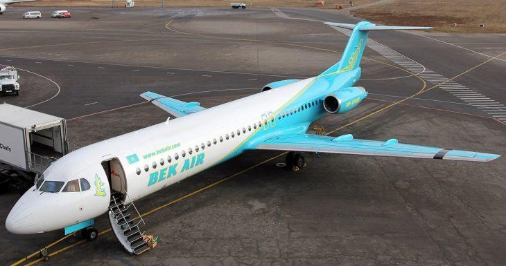 Фото самолета Фоккер ф100