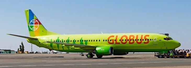 Самолеты авиакомпании Глобус Boeing 737 Next Generation