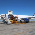 Самолет Boeing 757-200F авиакомпании Якутия