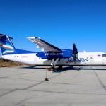 Самолет Bombardier Q300 авиакомпании Якутия