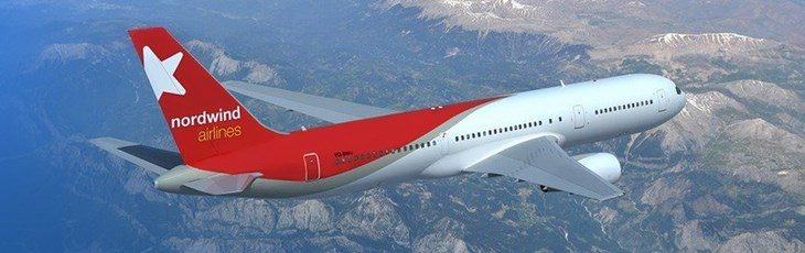 Самолет Nordwind
