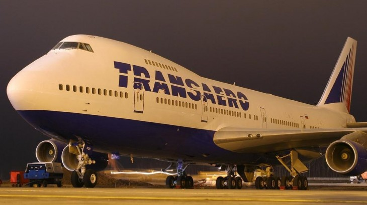 Самолеты компании ТрансАэро