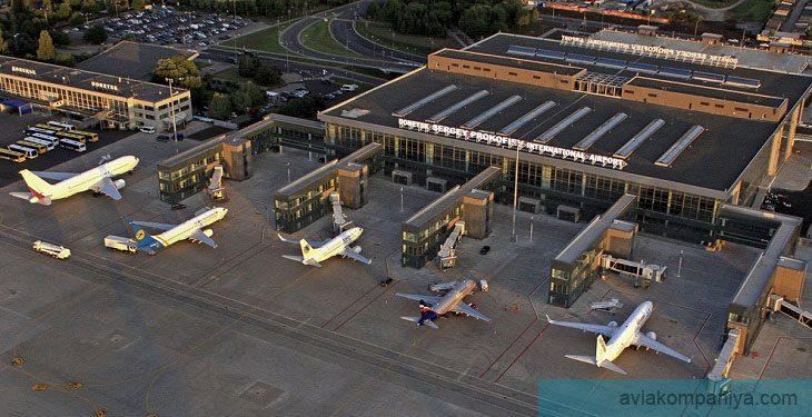 Фото аэропорта Донецк до разрушения