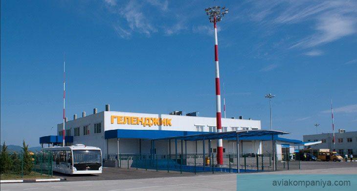 Фото аэропорта в Геленджике