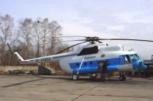 Вертолет Ми-8 авиакомпании Амур