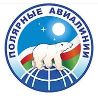 Логотип компании (белый медведь на земном шаре)