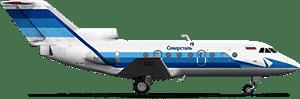 Фото самолета Як-40 (Северсталь)