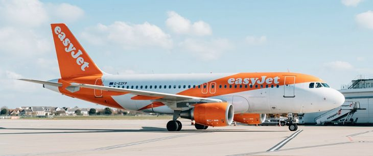 EasyJet самолет Airbus A319