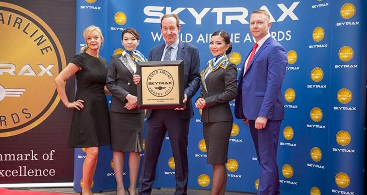 Награждения Air Astana агентство Skytrax