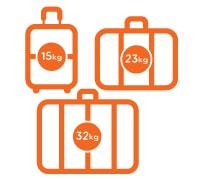 Максимальный вес багажа