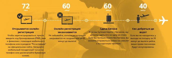 Как зарегистрироваться на международные рейсы Пегасус