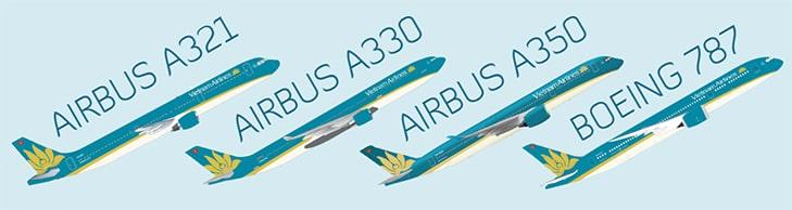 Схема самолетов