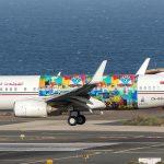 Фото Боинга 737 в необычной ливрее