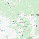 Карта СиЛА в Сибири