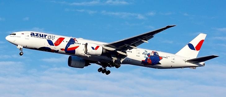 Фото Боинга 777-300 с медведями на фюзеляже